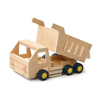 Red Tool Box DIY Wood Dump Truck Building Kit