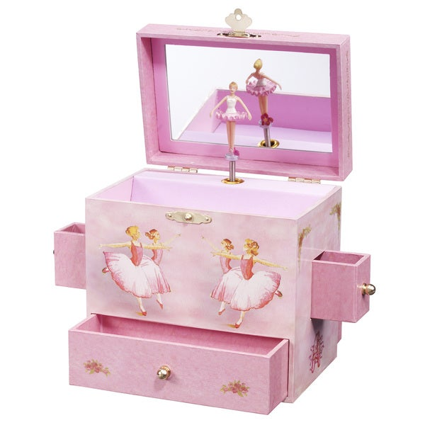 Enchantmints Ballerina Music and Treasure Box
