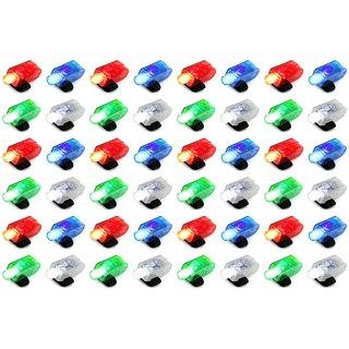 Velocity Toys 4-pack LED Light-up Party Favor Toy Finger Light (Set of 12) - Blue