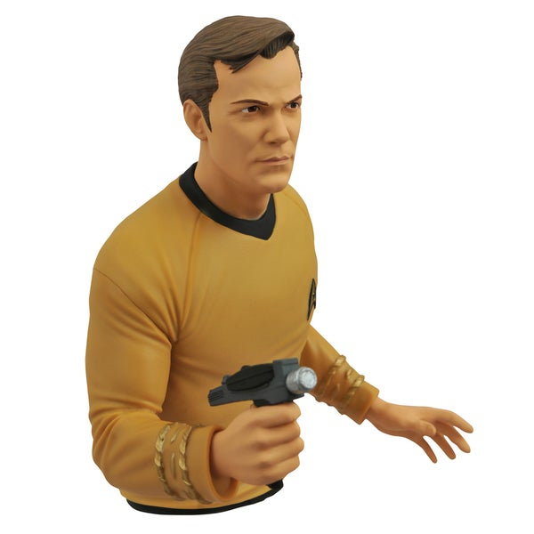 Diamond Select Toys Star Trek Kirk Bust Bank