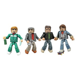 Diamond Select Toys Back To The Future 30th Ann Minimates 1985 Box Set