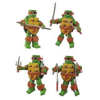 Diamond Select Toys Teenage Mutant Ninja Turtles Mirage Minimates Box Set - Leonardo Donatello Michelangelo and Raphael