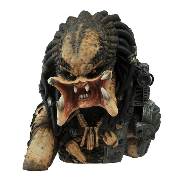 Diamond Select Toys Predator Unmasked Bust Bank