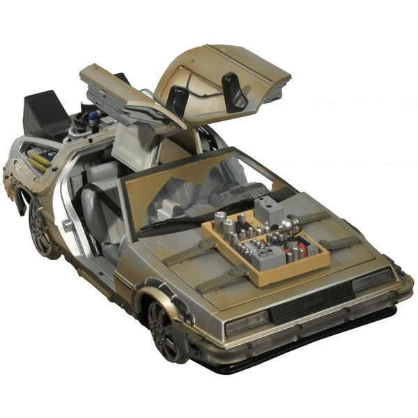 Diamond Select Toys Diamond Select Toys Back To The Future III Rail Ready Time Machine