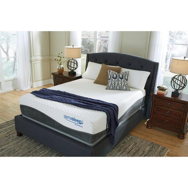Shop Sierra Sleep By Ashley Mygel Hybrid Queen Size