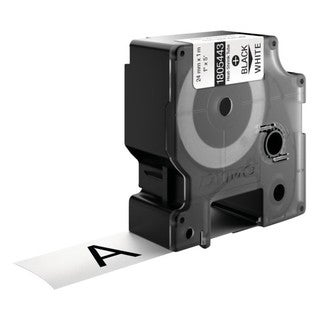 Dymo Black on White Wire and Cable Label