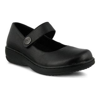 Women's Spring Step Wisteria Mary Jane Black Leather (More options available)