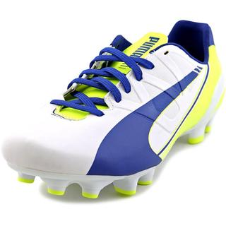 Puma Women's 'evoSPEED 4.3 FG Wn' Faux Leather Athletic