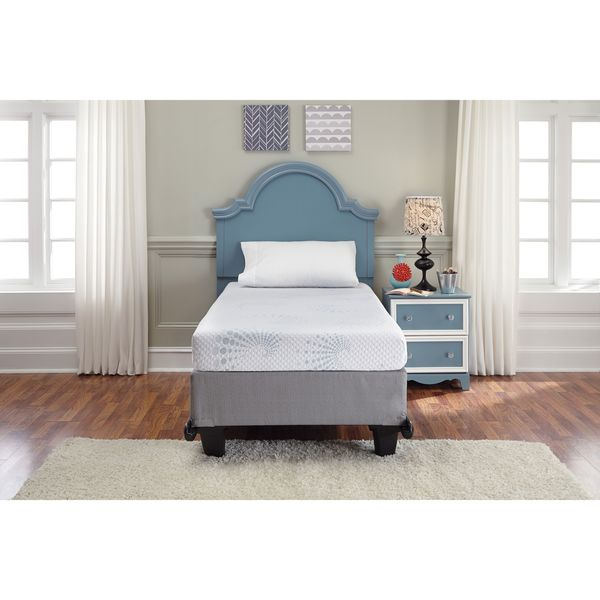 Signature Sleep 12 Inch Memory Foam Mattress King Sierra Sleep by Ashley White 7-inch Full-size Memory Foam Mattress ...