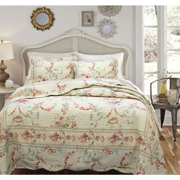 Rose Romance Shams (Set of 2)