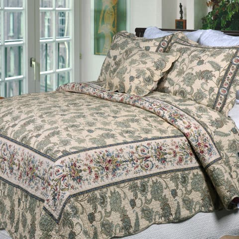 Copper Grove Quinns King Sized Shams (Set of 2) - Grey