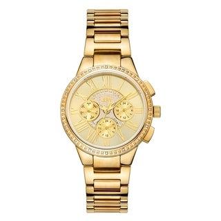 JBW Women's Helena J6328E 18k Goldplated Diamond Watch