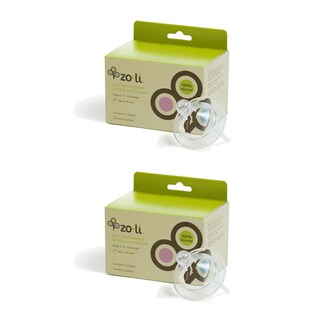 Zoli Baby Anti-colic Silicone Stage 2 Nipple (Pack of 2)