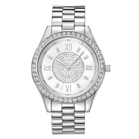 JBW Women's Mondrian Stainless Steel Diamond Watch
