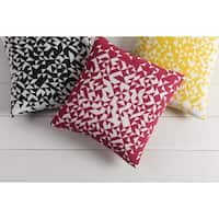 Decorative Almonaster 22-inch Feather Down or Polyester Filled Pillow