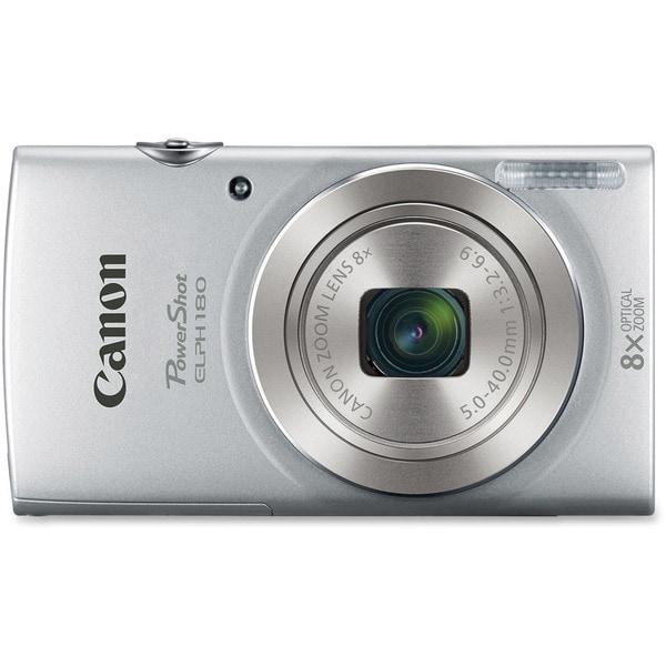 Canon PowerShot 180 20 Megapixel Compact Camera - Silver