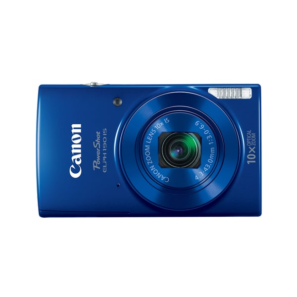 Canon PowerShot 190 IS 20 Megapixel Compact Camera - Blue