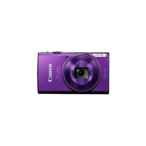 Canon PowerShot 360 HS 20.2 Megapixel Compact Camera - Purple