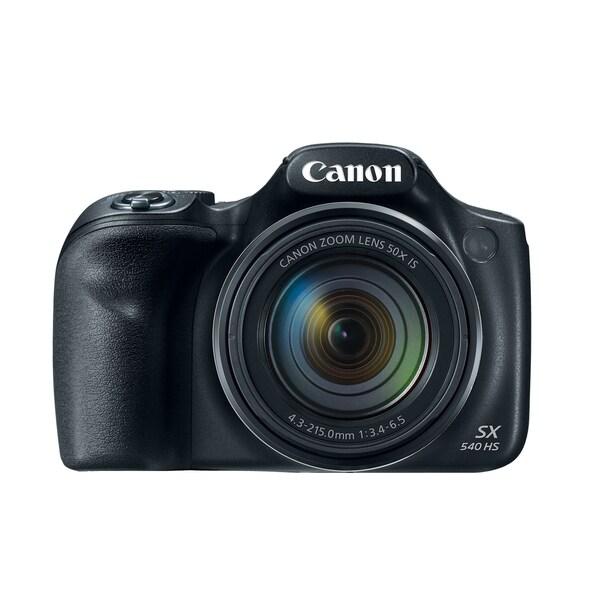 Canon PowerShot SX540 HS 20.3 Megapixel Compact Camera - Black