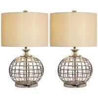 Casa Cortes Metal Table Lamp (Set of 2)