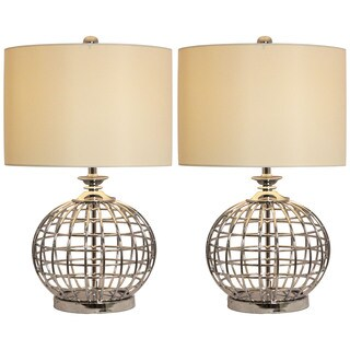 Casa Cortes Metal Table Lamp (Set of 2)