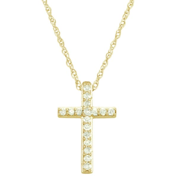 gold ct in lovely chains diamond sideways pendant necklace designs fresh kc w white cross of t