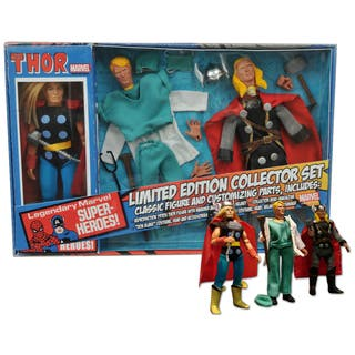 Diamond Select Toys Marvel Thor 8in Retro Action Figure Set|https://ak1.ostkcdn.com/images/products/11319498/P18296987.jpg?impolicy=medium