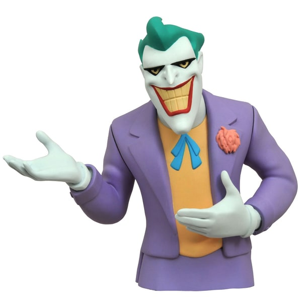 Diamond Select Toys Batman Animated Series Joker Bust Bank