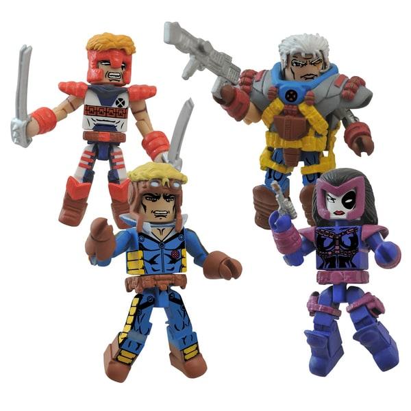 Diamond Select Toys Marvel Minimates Classic X-Force Box Set