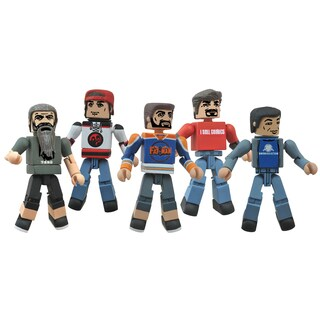 Diamond Select Toys Comic Book Men Minimates Box Set - Kevin Smith, Walt Flanagan, Bryan Johnson, Ming Chen and Mike Zapcic