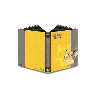 9-Pocket Pokemon Full-View Pro Binder: Pikachu|https://ak1.ostkcdn.com/images/products/11319548/P18297012.jpg?_ostk_perf_=percv&impolicy=medium