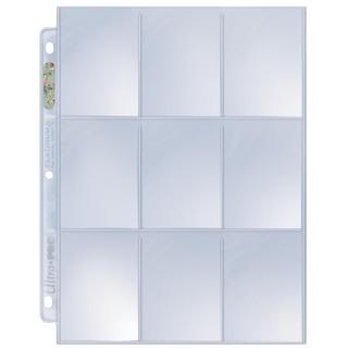 100 Ultra Pro Platinum 9-Pocket Sheets