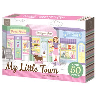 kathy ireland My Little Town: Pretty Plaza Playset