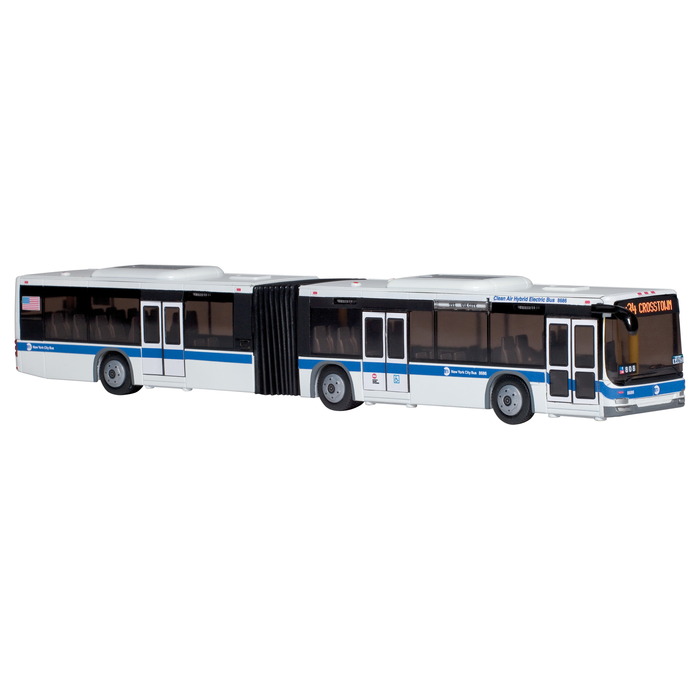 Daron New York MTA Hybrid Articulated Bus (G830715951720)...