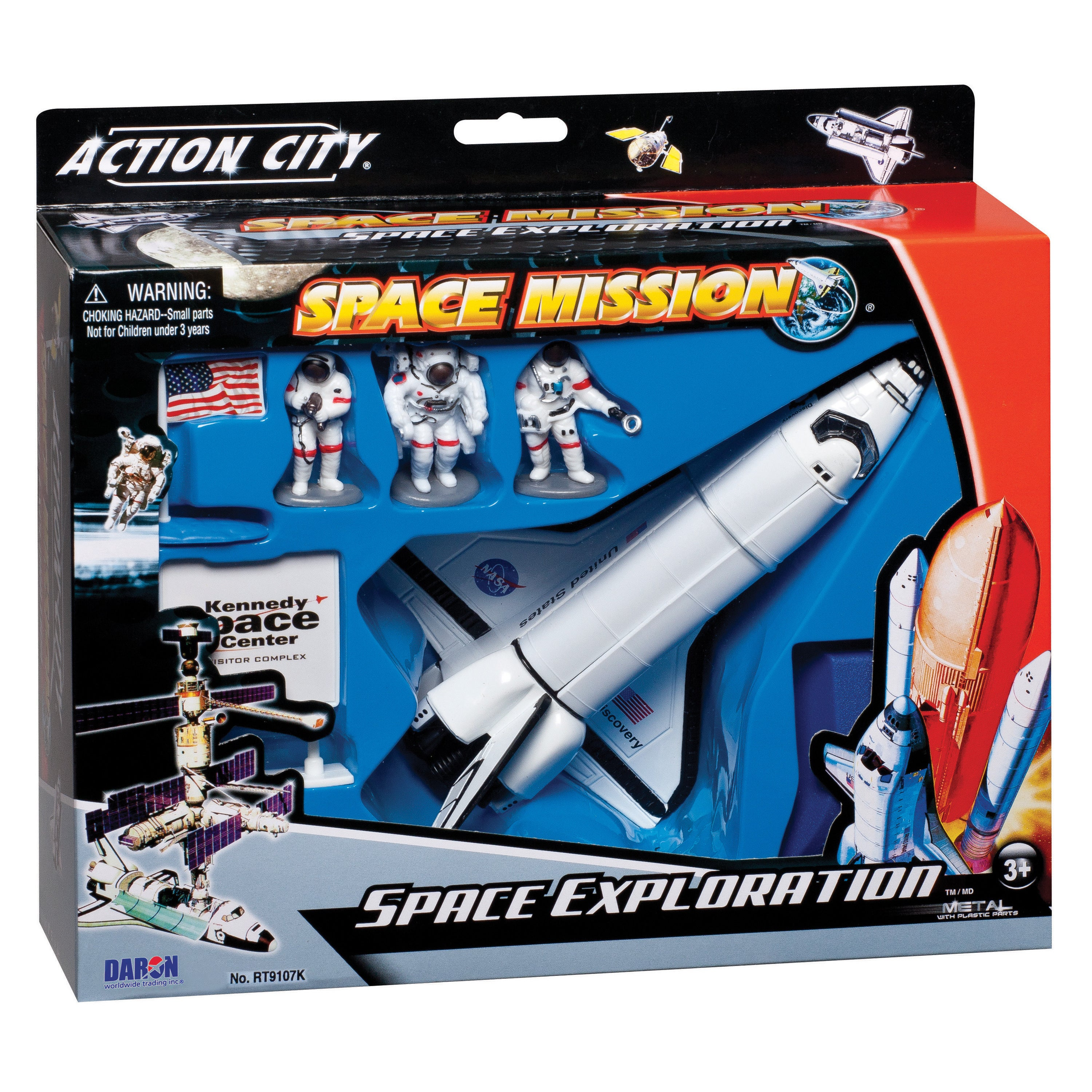 Daron Nasa Die-Cast Space Shuttle with Accessories (G6064...