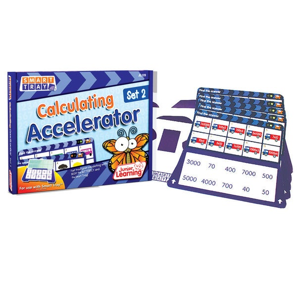 Junior Learning Smart Tray Calculating Accelerator Set 2
