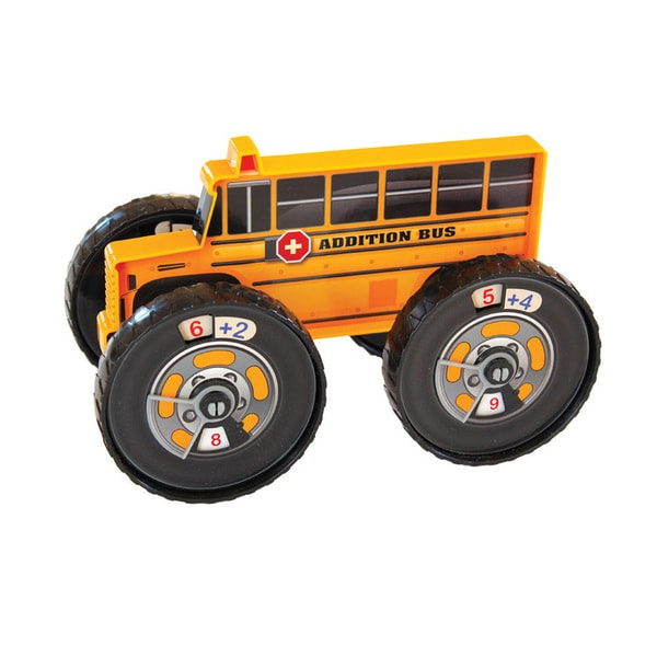 Junior Learning Addition Bus  -  A Hands-on Toy for Teaching Addition