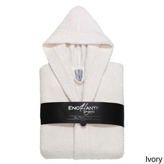 Enchante Luxury Extra Soft Turkish Hooded Bathrobe