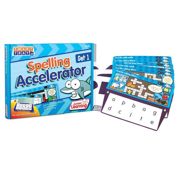 Junior Learning Smart Tray Spelling Accelerator Set 1