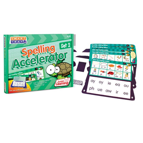 Junior Learning Smart Tray Spelling Accelerator Set 2