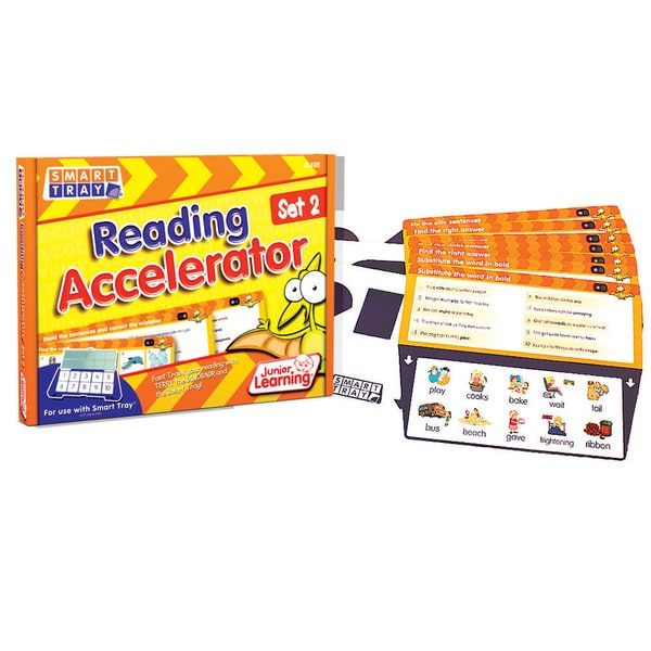 Junior Learning Smart Tray Reading Accelerator Set 2