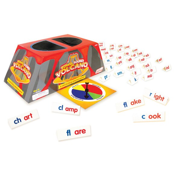Junior Learning Vowel Sound Volcano - A Word Building Adventure Game!