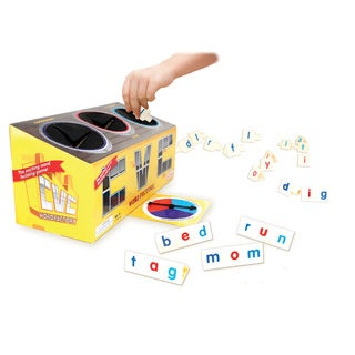 Junior Learning CVC Word Factory Word Building Game