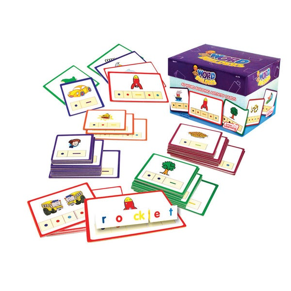 Junior Learning Word Builders Activity Cards