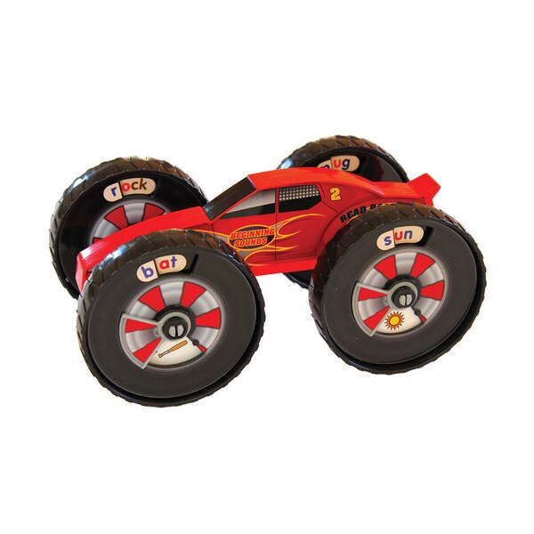 Junior Learning Read Racer Beginning Sound Racer - A Hands-on Toy for Teaching Beginning Sounds