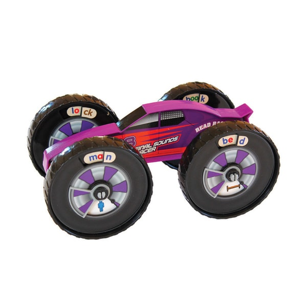 Junior Learning Read Racer Final Sound Racer - A Hands-on Toy for Teaching Final Sounds