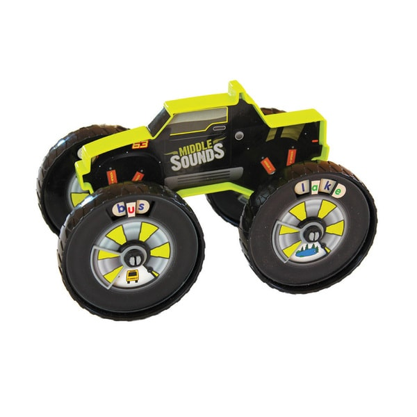 Junior Learning Read Racer Middle Sound Racer - A Hands-on Toy for Teaching Middle Sounds