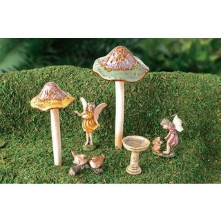 Fairy Mushroom Garden Accent Collection
