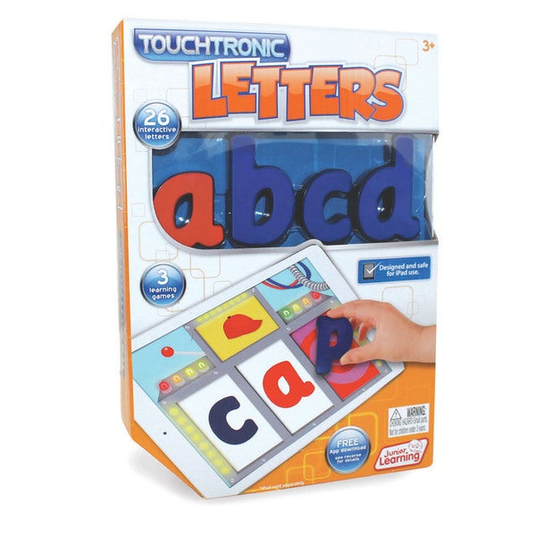Award Winning Educational Toys : Junior learning touchtronic letters award winning