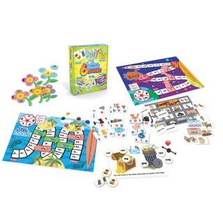 Junior Learning Letter Sound Games - Set of 6 Different Letter Sounds Games